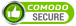 Secured with Comodo Wildcard SSL